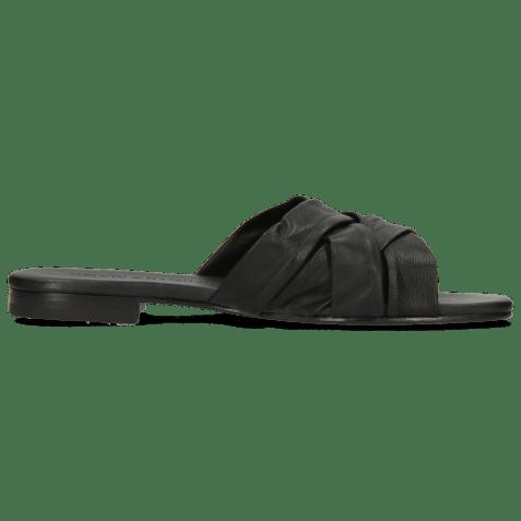 Mules Elodie 46 Nappa Black LS Flex