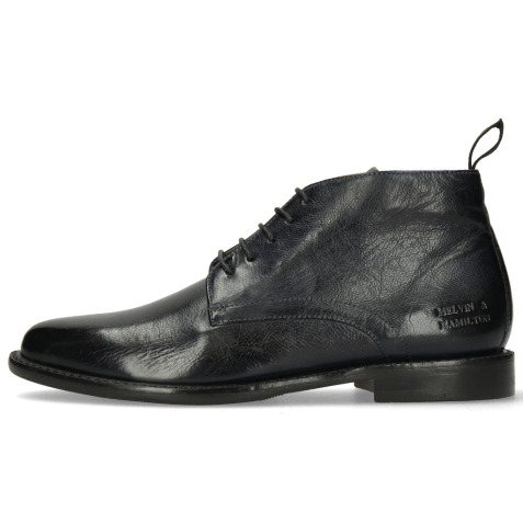 Ankle boots Selina 28 Pisa Navy Lining Rich Tan