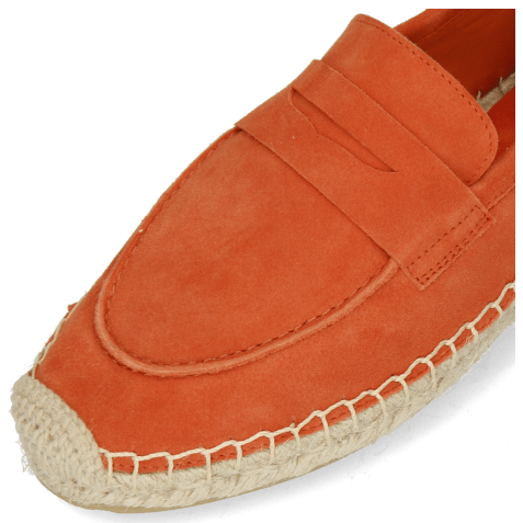 Espadrilles Bree 2 Suede Orange