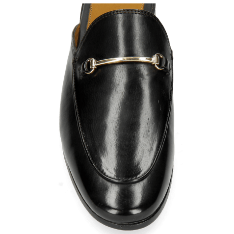 Mules Scarlett 4 Black Trim Gold