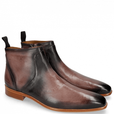Ankle boots Lance 51 Pavia Wine Shade Black