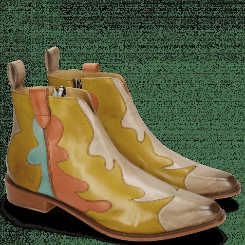 Ankle boots Marlin 7 Digital Olivine Earthly Mermaid