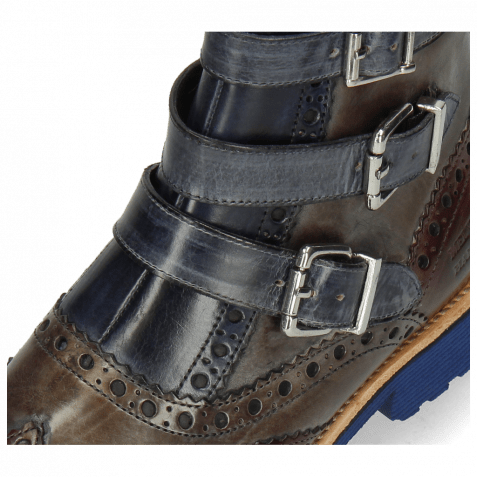 Ankle boots Amelie 65 Wine Grigio Avio