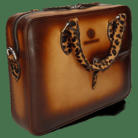 Handbags Vancouver Sand Shade Wood Hairon Leo