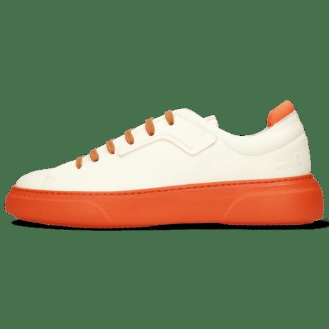 Sneakers Harvey 35 Vegas White Lycra Orange