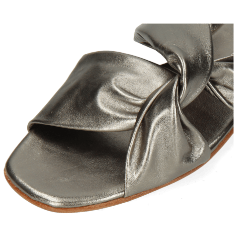 Mules Elodie 35 Talca Aluminium Footbed
