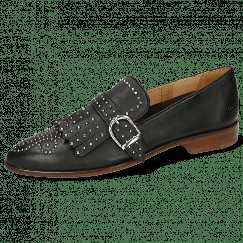 Loafers Jessy 26 Venice Pavia Black