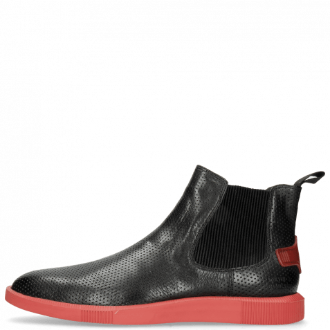 Ankle boots Newton 3 Franky Perfo Black Risk Red