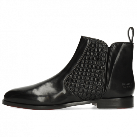 Ankle boots Susan 34 Black Stretch Faro