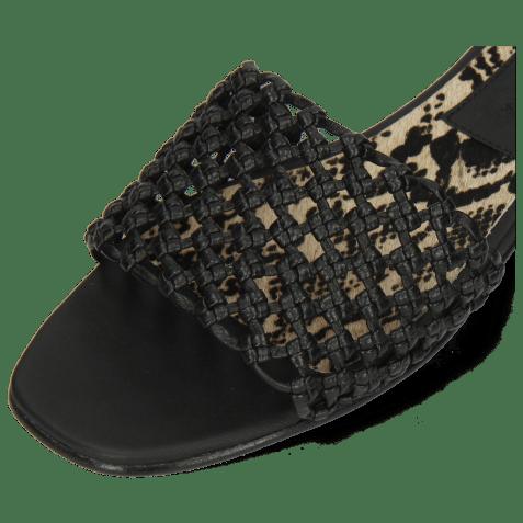 Mules Elodie 32 Mignon Black Binding