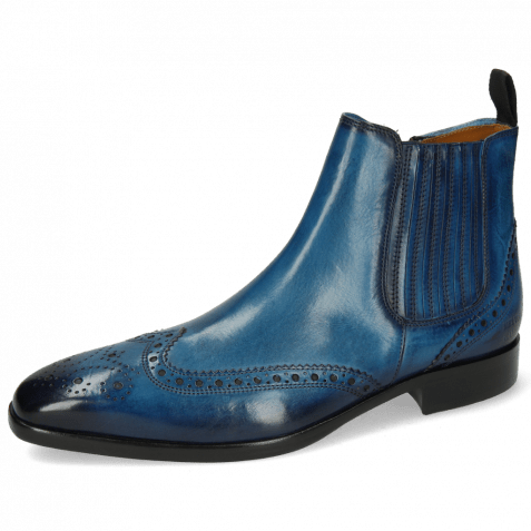 Ankle boots Lance 56 Mid Blue Elastic Shade Navy