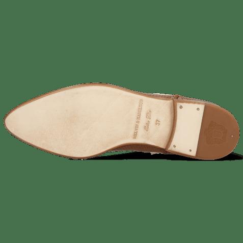 Ankle boots Jessy 1 Venice Pavia Perfo Tan
