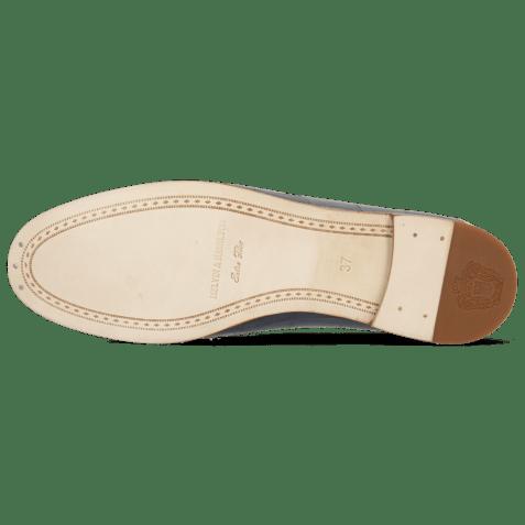 Loafers Scarlett 45 Vegas Turtle Navy Fiesta White Trim