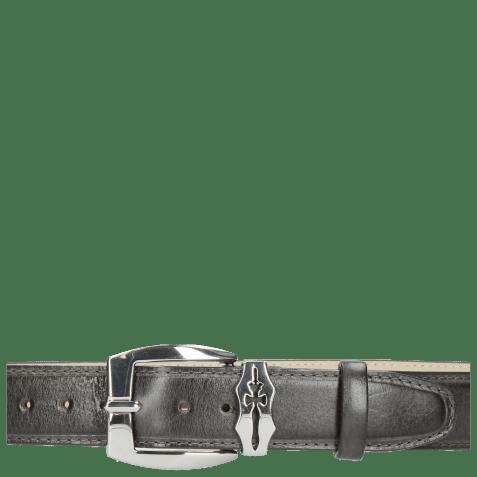 Belts Larry  1 Grigio Sword Buckle