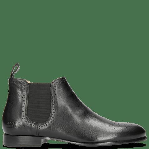Ankle boots Sally 16 Salerno Black Elastic Black HRS