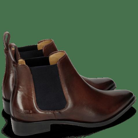 Ankle boots Marlin 4 Mogano Elastic Navy