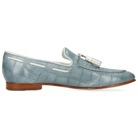 Loafers Monica 9 Vegas Turtle Sky Blue