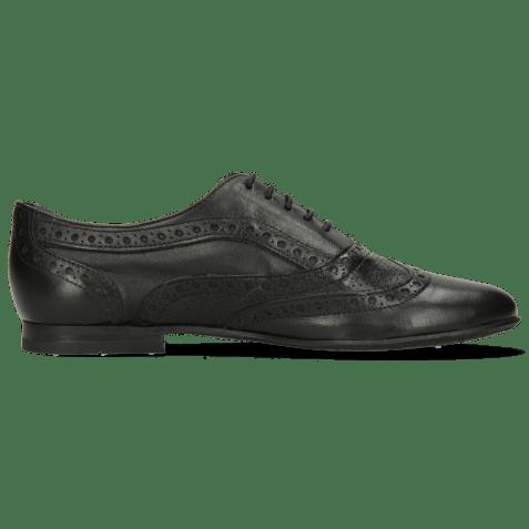 Oxford shoes Sonia 1 Nappa Perfo Black RS