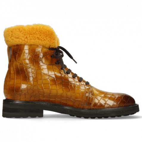 Ankle boots Trevor 19 Crock Indy Yellow Sherling Mustard