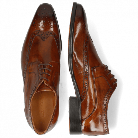 Derby shoes Lewis 3 Imola Wood Lining Rich Tan