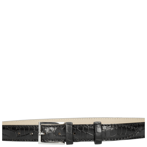 Belts Linda 1 Crock Black Classic Buckle