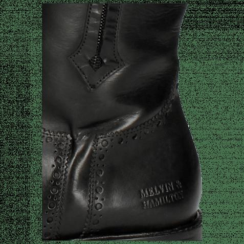 Boots Sally 117 Crust Black Lining Rich Tan