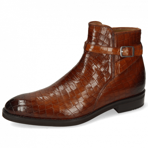 Ankle boots Kane 1 Crock Mid Brown Strap Tan Lining