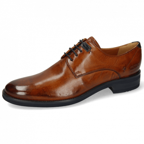 Derby shoes Clint 1 Imola Wood Deco Pieces Navy