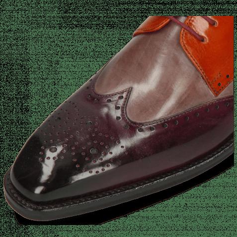 Derby shoes Dave 2 Viola Pale Lila Winter Orange
