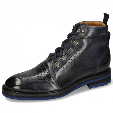 Ankle boots Trevor 5 Classic Navy Laces Blue Lining
