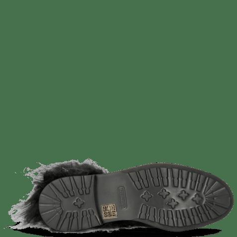 Ankle boots Amelie 79 Suede Pattini Black Collar Fur Mongolian