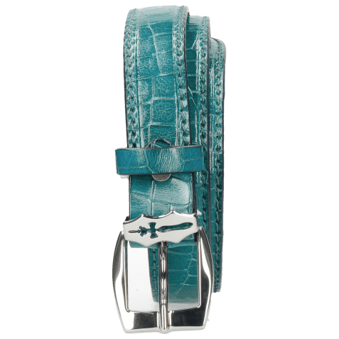 Belts Linda 1 Crock Turquoise Sword Buckle
