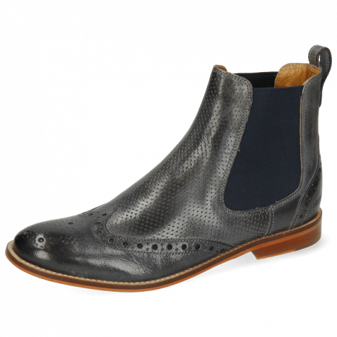 Ankle boots Amelie 5 Venice Perfo Glicine