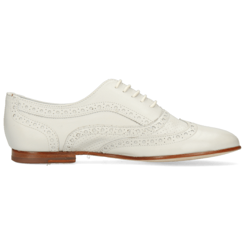 Oxford shoes Sonia 1 Nappa Perfo Off White