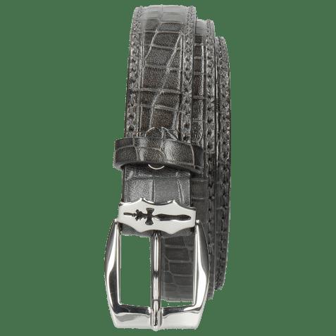 Belts Linda 1 Crock Grigio Sword Buckle