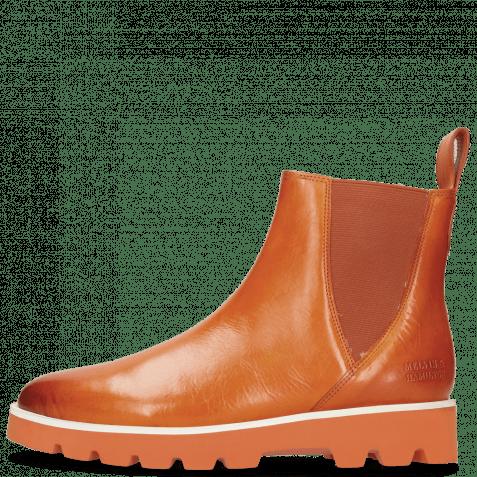 Ankle boots Susan 76 Vegas Orange Elastic Orange