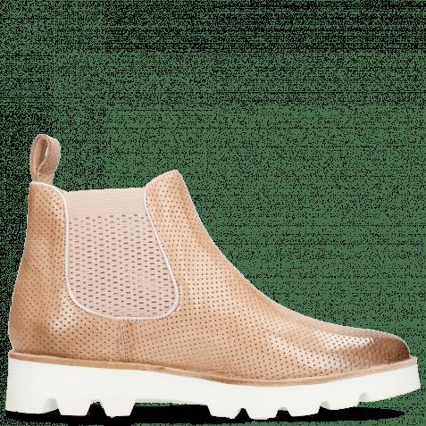 Ankle boots Selina 37 Vegas Perfo Light Rose