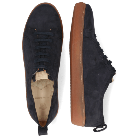 Sneakers Sage 1 Sheep Suede Reflex Blue Patch