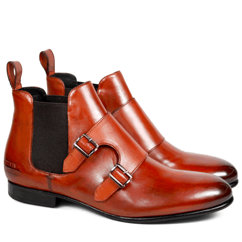 Ankle boots Sally 27 Crust Orange Elastic Brown HRS