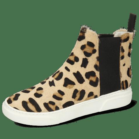 Ankle boots Hailey 15 Hairon Tanzania Off White