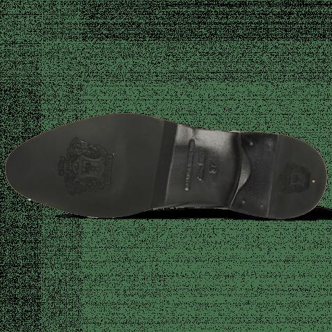 Derby shoes Betty 16 Imola Black Strap M&H Flex