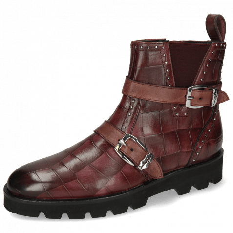 Ankle boots Susan 54 Turtle Wine Palermo Wine