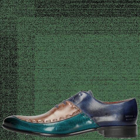 Oxford shoes Toni 15 Turquoise Cappu China Blue LS