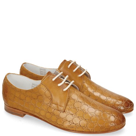 Derby shoes Monica 2 Vegas Perfo Sand