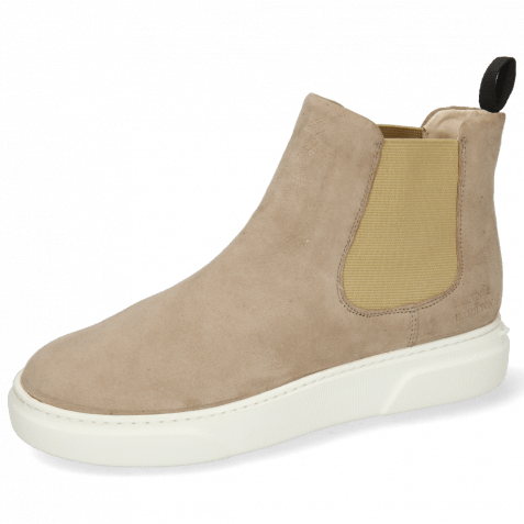 Ankle boots Hailey 2 Sheep Suede Elephant Elastic Beige