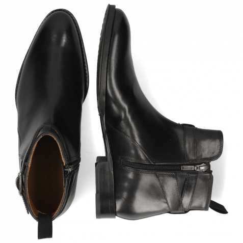 Ankle boots Kane 1 Black Strap Black Lining