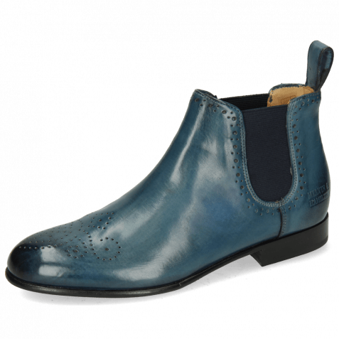 Ankle boots Sally 16 Ice Lake Elastic Navy