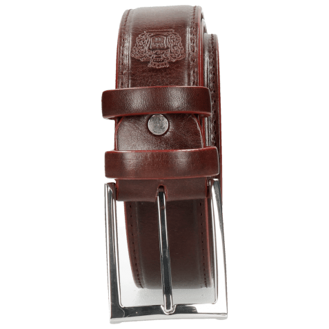 Belts Larry 1 Burgundy Classic Buckle