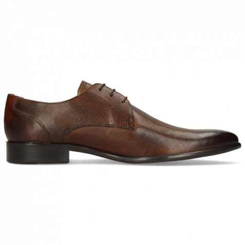 Derby shoes Toni 1 Dice Wood LS Brown