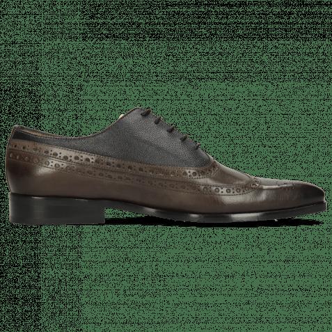 Oxford shoes Rico 39 Rio Deep Steel Little Scotch Navy